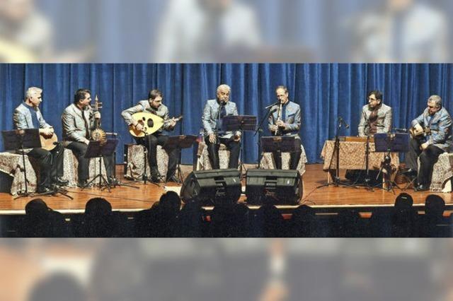 Das Bahar-Ensemble aus Isfahan spielt in Ebnet