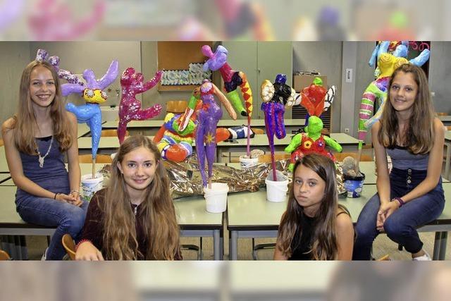 Schüler bieten beim Schulfest gute Unterhaltung