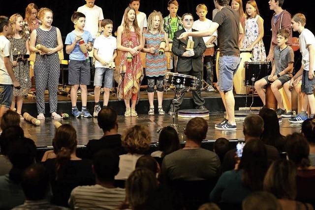 Zum siebten Mal wurde im Theater das Kindermusikfestival