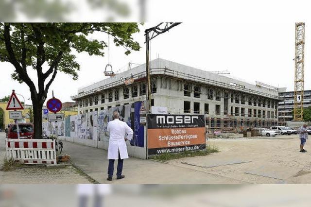 Richtfest für Neubau des Tumorzentrums