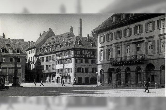 Die Südwestecke des Münsterplatzes war einst ein klassizistisches Architektur-Juwel