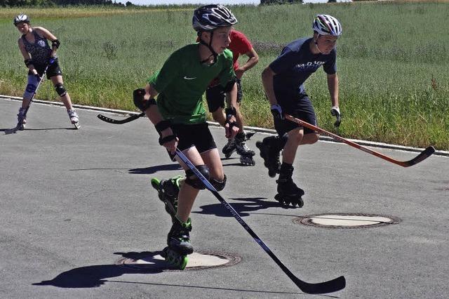Sommertraining für Nachwuchsskifahrer vom Bezirk IV
