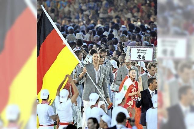 Deutschland sucht den Fahnenträger