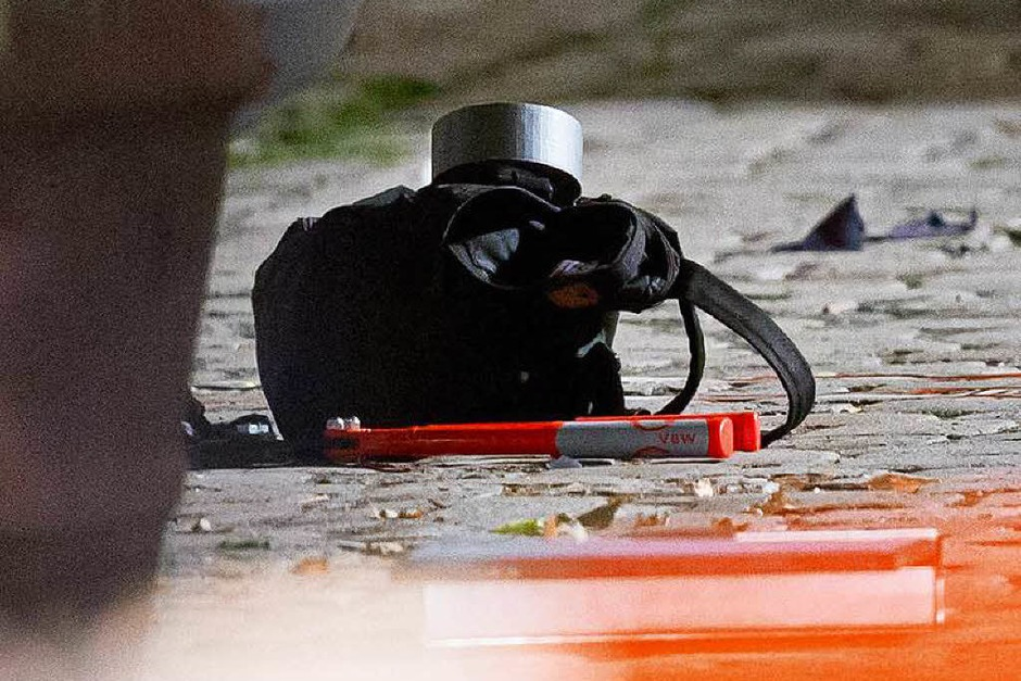 Bombenanschlag in Ansbach (Foto: dpa)