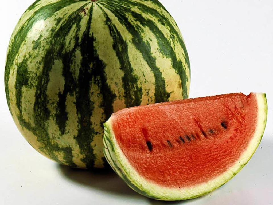 Die Reste der Melone im Kühlschrank de...es wog mehrere Kilogramm (Symbolbild).  | Foto: Atlanta-Gruppe
