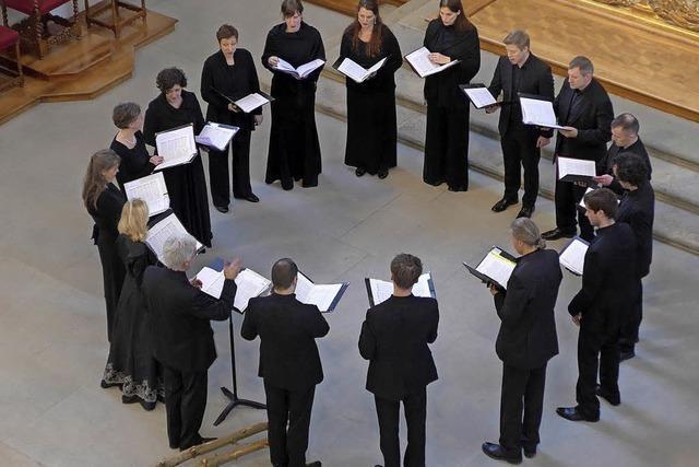 Im Rahmen des Stimmen-Festivals in der Lörracher Stadtkirche