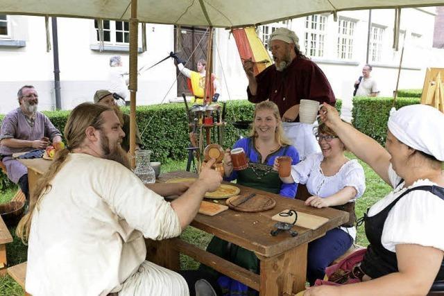 Beim Dorfplatzfest in Littenweiler gab's viel Musik und Mittelalter-Flair