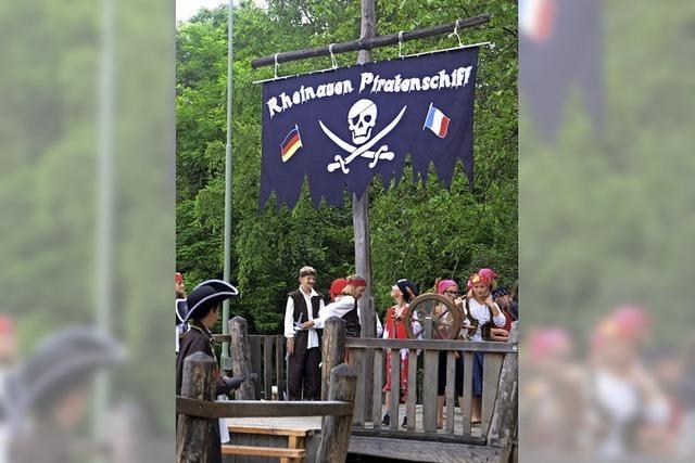 Piratenschiff sticht in See