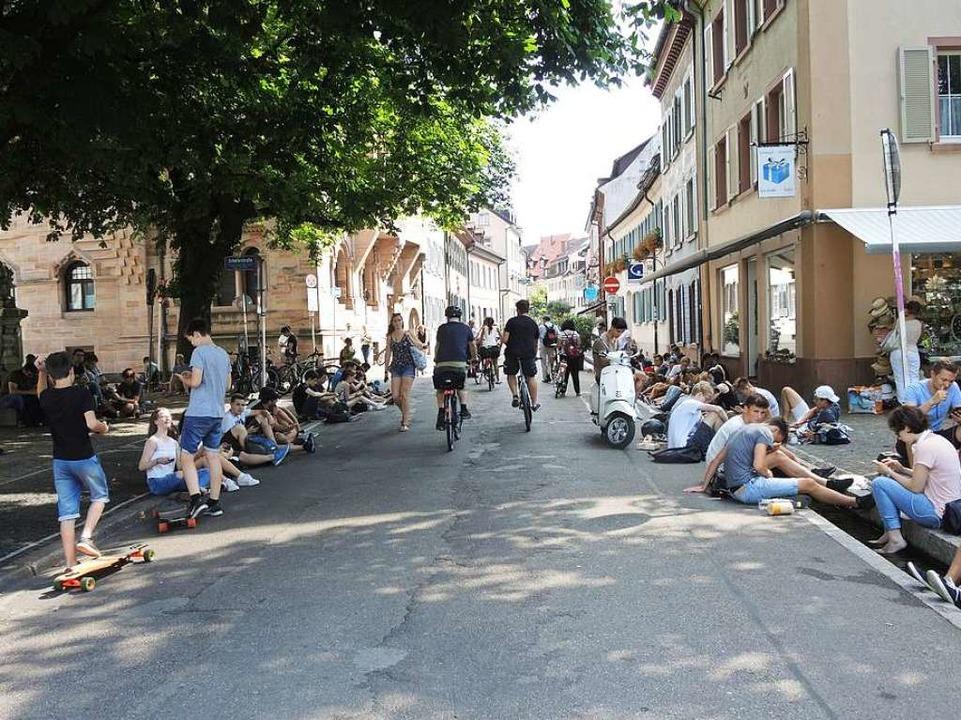 <ppp> und sorgen </ppp> für Verkehrsberuhigung.    Foto: Heinz Ney