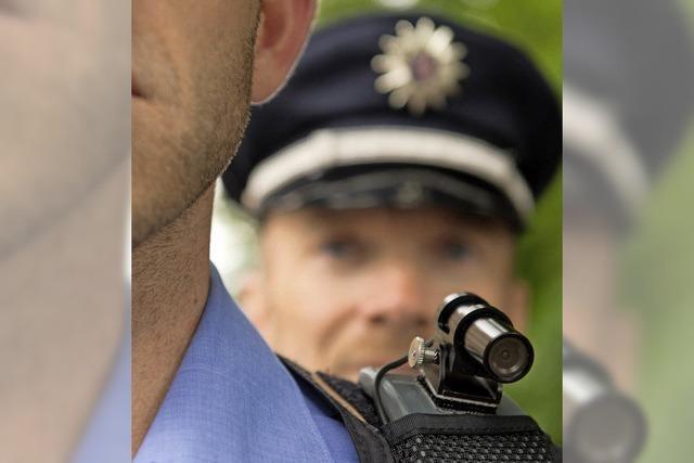 Testlauf mit Body-Cams: Weiler Polizei bekommt Körperkameras