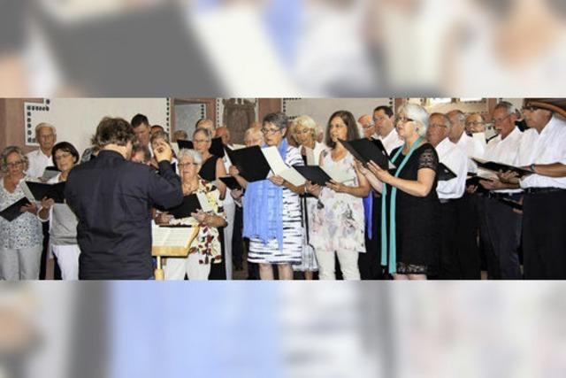 Zum Jubiläum gibt es geistliche Musik als Predigt fürs Leben