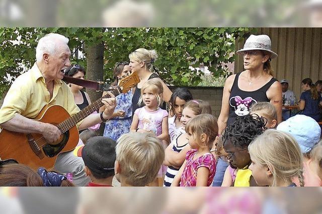 Kindergarten St. Elisabeth feiert den Sommer