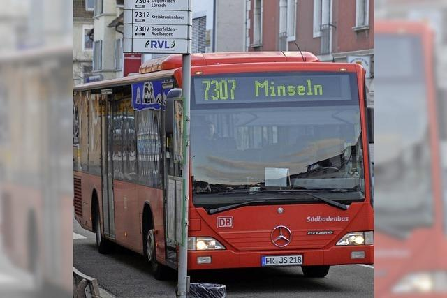 Linie 7307 und Rufbus bleiben auf Kurs