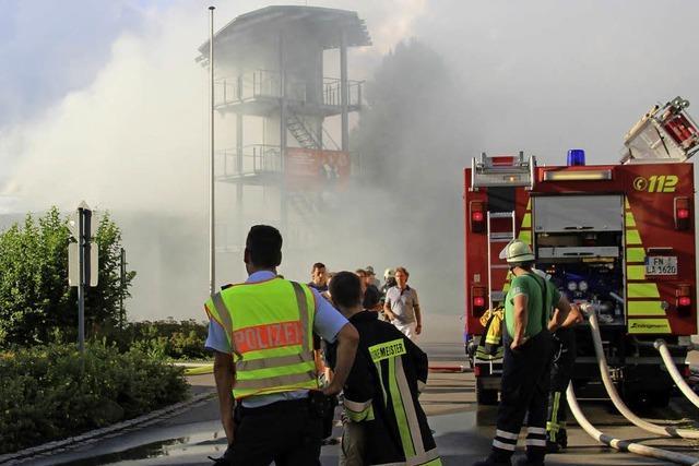 Feuer bei der Feuerwehr