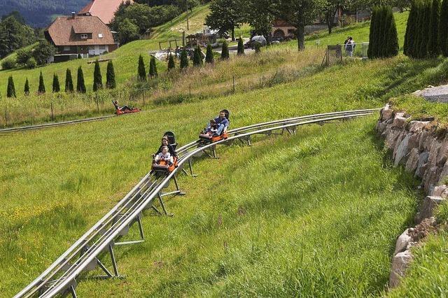 Unfall auf Sommerrodelbahn in Gutach – drei Jugendliche verletzt