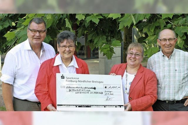 Unterstützung für den Kenzinger Hilfsfonds