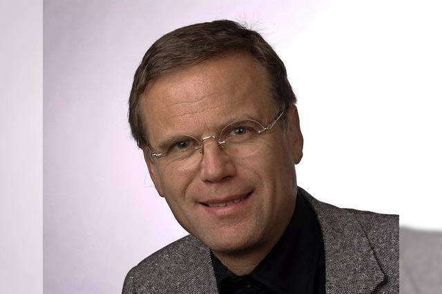 Lituraturwissenschafter Dr. Jürgen Glocker referiert über