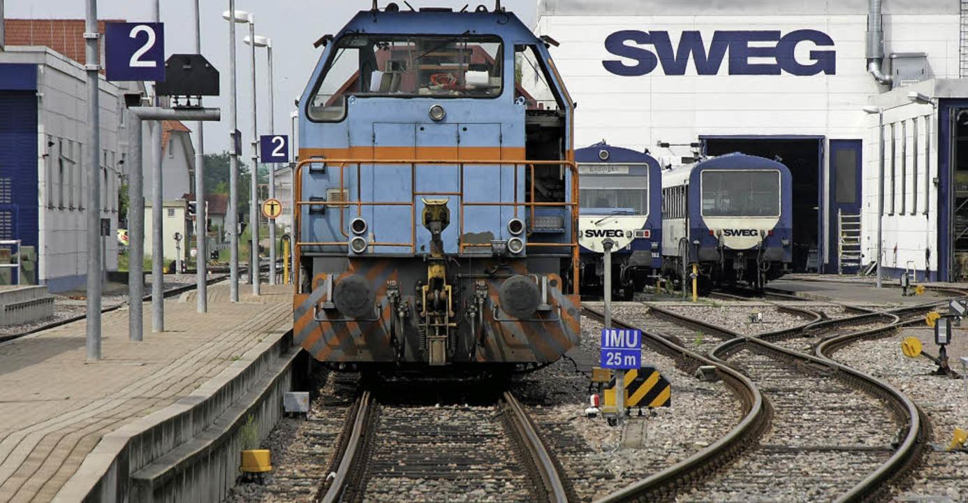 Die Diesel-Ära bei der Kaiserstuhlbahn...n, doch die Zukunft wirft Fragen auf.   | Foto: Archivfoto: Wendel