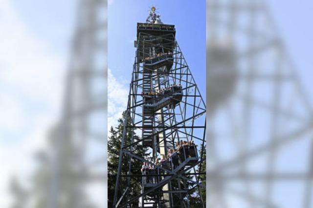 Eichelspitzturm in Eichstetten ist zehn Jahre alt