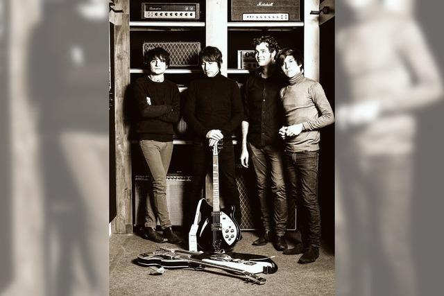Die Band Blackbyrds aus Stuttgart im Haus am See