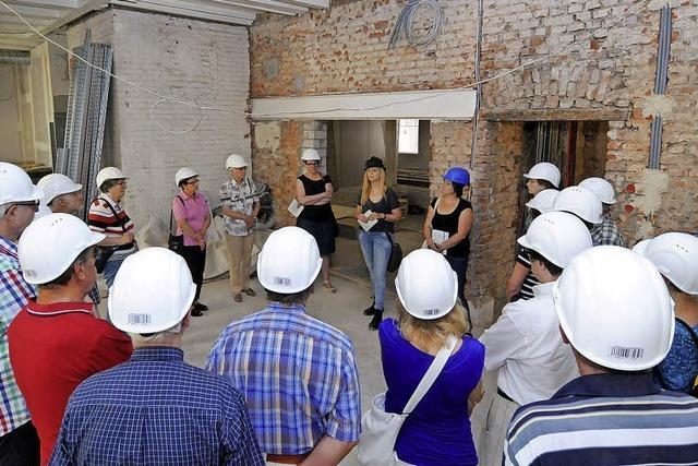 Führung durchs künftige Stadtmuseum