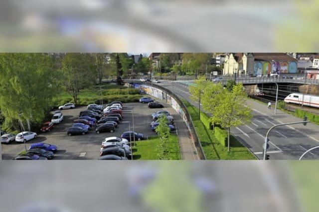 Land knausert bei der Parkplatz-Planung