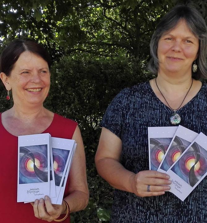 Lore Barnet (links) und Friederike Schweigler     Foto: Privat