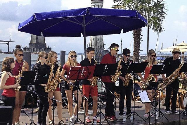 Saxobeats, Kickstart und Power Birds: Junge Elztäler Musiker beim ZMF in Freiburg