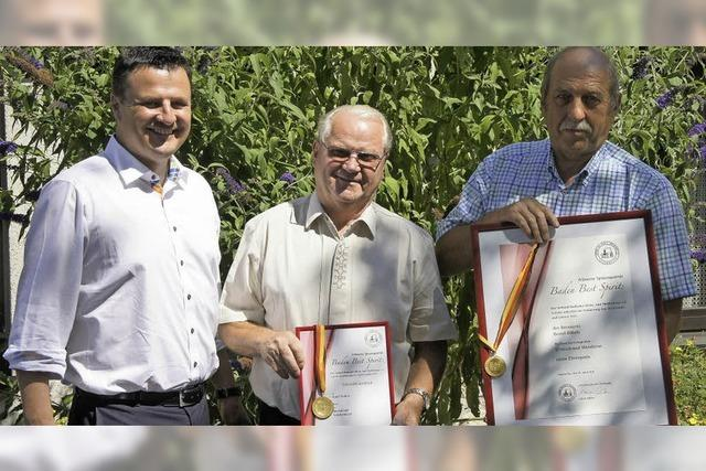 Brenner räumen bei Medaillenvergabe ab