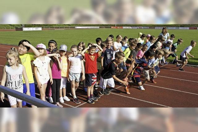 Sponsorenlauf an der Hans-Thoma-Schule Laufenburg