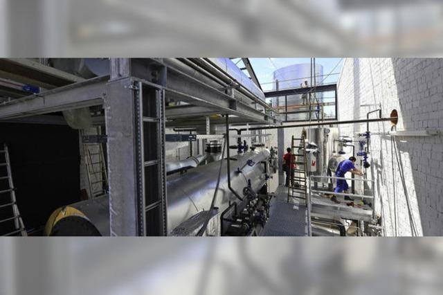 Wie bei der Schwarzwaldmilch mit einem Blockheizkraftwerk Strom gemacht wird