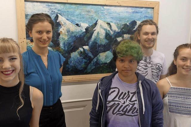 Kunst bietet jungen Kreativen Stoff