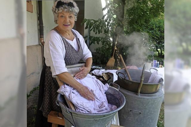 Schinderei für saubere Wäsche