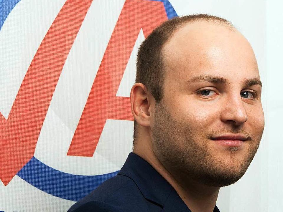 Markus Frohnmaier ist Chef der AfD-Jugendorganisation JA.  | Foto: dpa