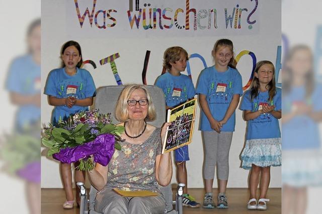 Kinder lassen Elke Meyer ungern gehen