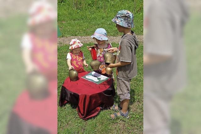 Kinder auf klangvoller Sommerreise