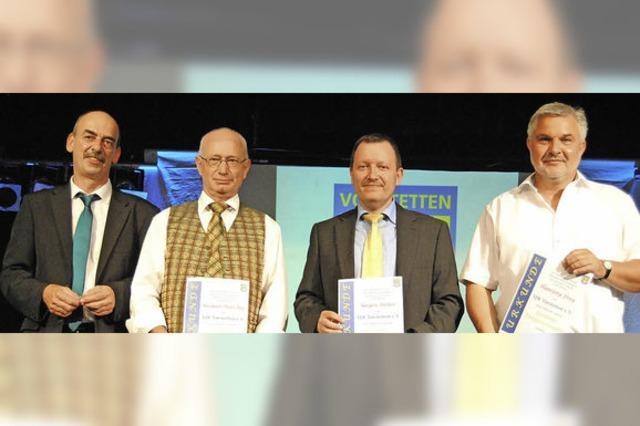 VfR Vörstetten ehrt Mitglieder