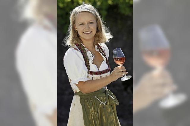 Martin Wangler und Weinprinzessin als Gäste