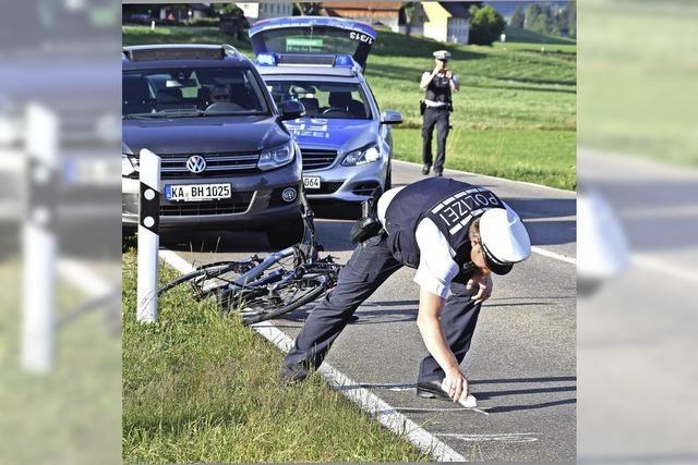 Radfahrer schwer verletzt