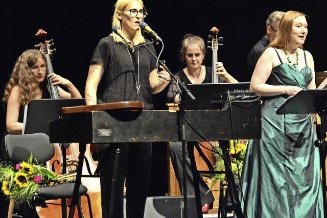 Mine, Dorothee Mields und die Berliner Lautten Compagney mit Monteverdi-Projekt im Lörracher Burghof