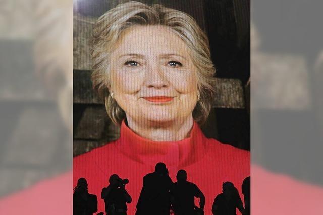 Bill Clinton wirbt für die
