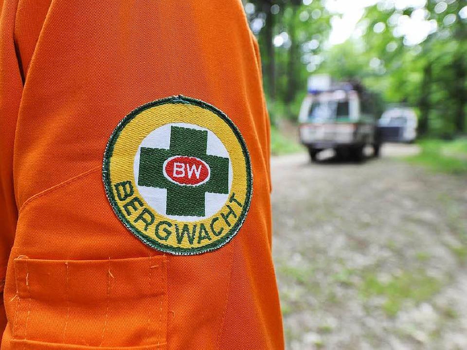Die Bergwacht rette die Frau und brach...gswagen in die Uniklinik. (Symbolbild)  | Foto: Ingo Schneider