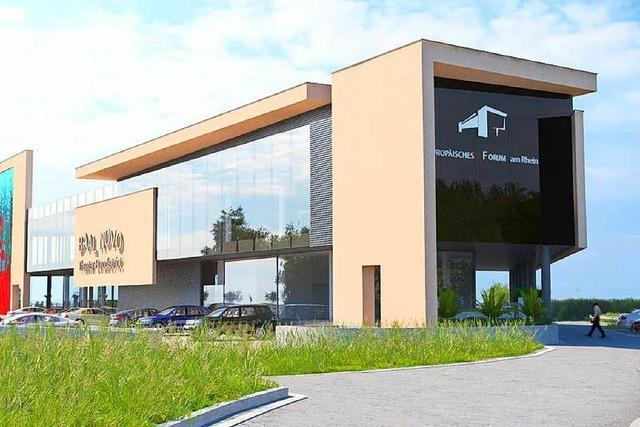 Neues Forum am Rhein in Neuried: