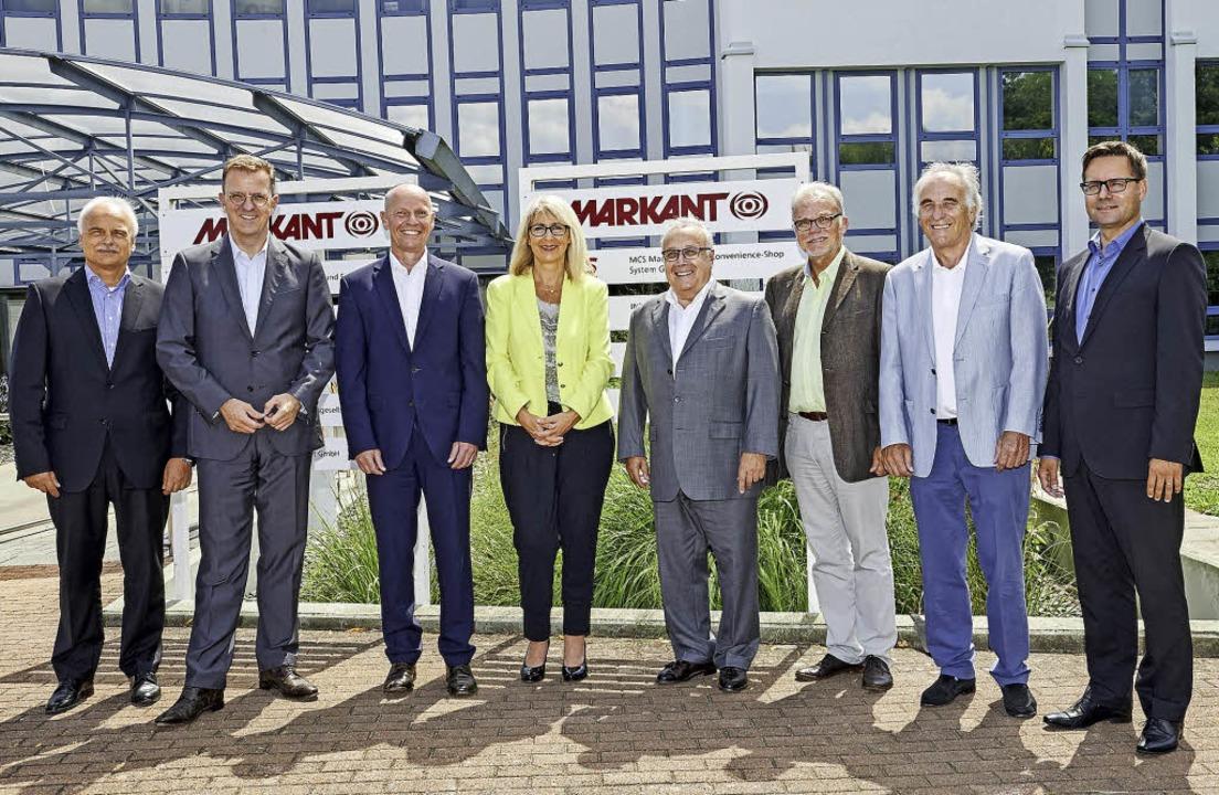 Vertreter von Spendern und Begünstigte... Geschäftsführer Markant Deutschland.   | Foto: Daniel Godde