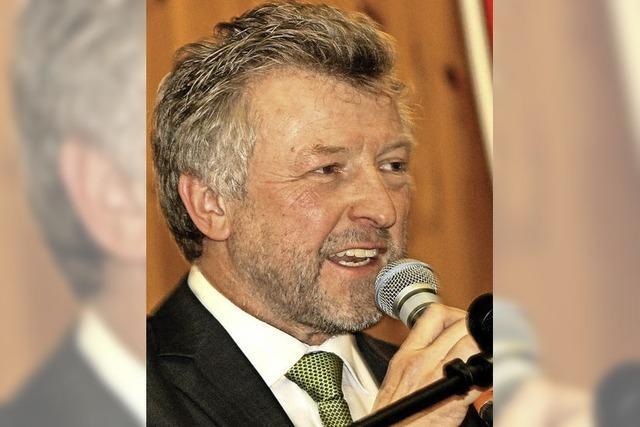 Bürgermeister Gerd Schönbett tritt wieder an