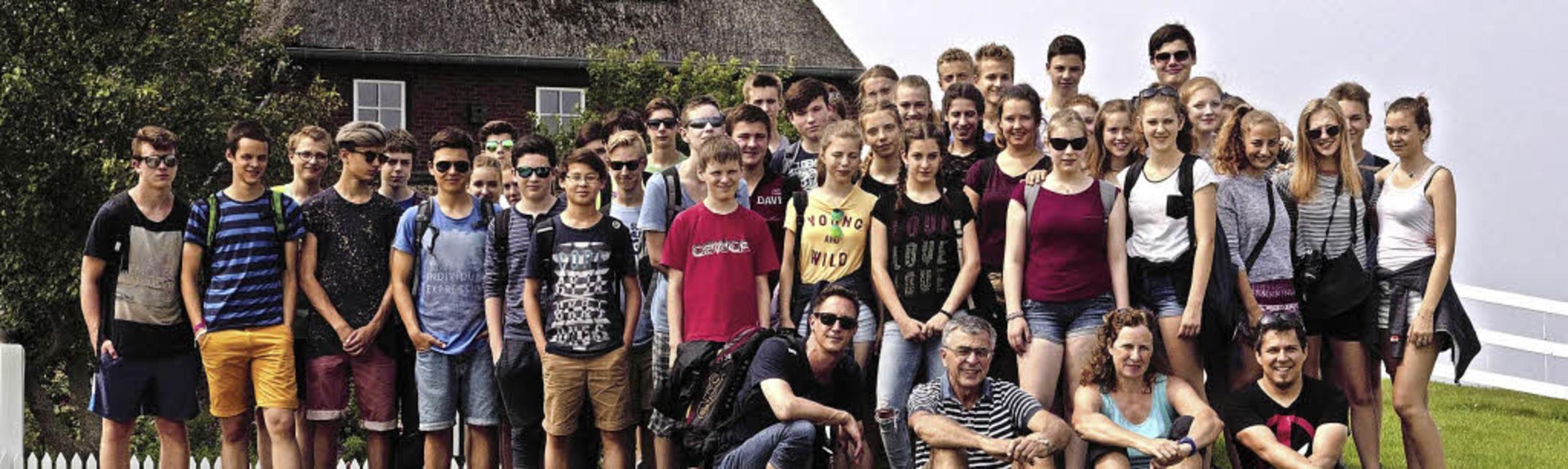 <BZ-FotoAnlauf>Faust-Gymnasium Staufen...hüler entdecken die Nordsee für sich.   | Foto: Schule