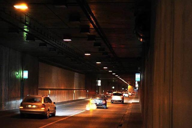 Defekt im B-31-Tunnel führt zu Verkehrsbehinderungen in Freiburg