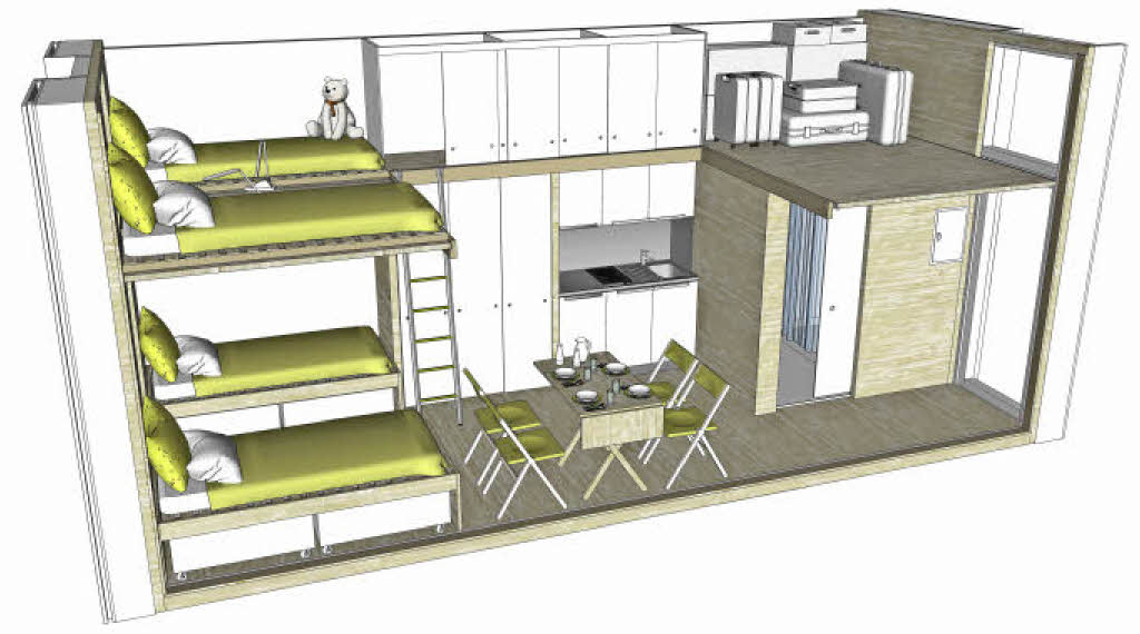 freiburger solararchitekt plant ko container f r. Black Bedroom Furniture Sets. Home Design Ideas