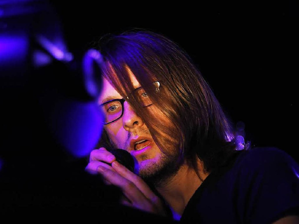 Prog-Rocker Steven Wilson beim ZMF    Foto: Wolfgang Grabherr