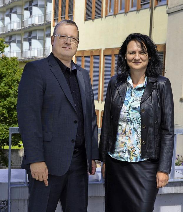 Auf gutem Weg sehen Geschäftsführer Pe...in Waldshut (Foto) und Bad Säckingen.   | Foto: Axel Kremp
